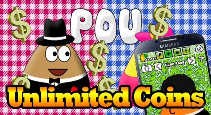 pou unlimited coins dan money