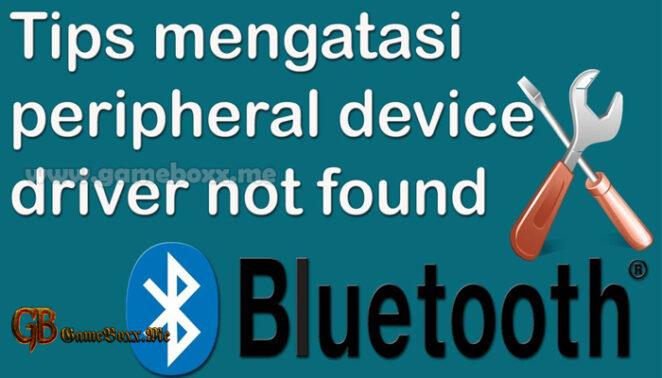 4 Cara Mengatasi Bluetooth Peripheral
