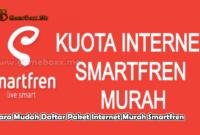 Cara Mudah Daftar Paket Internet Murah Smartfren