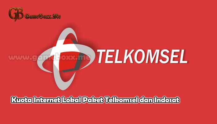 Kuota Internet Lokal Paket Telkomsel dan Indosat