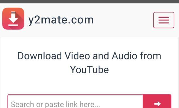 Selanjutnya Paste URL video Youtube di kolom yang disediakan