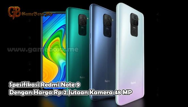 Spesifikasi Redmi Note 9 Dengan Harga Rp 2 Jutaan Kamera 48 MP