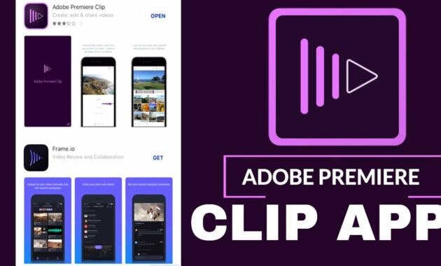 Adobe Premiere Clip Aplikasi Edit Video Android Tanpa Watermark