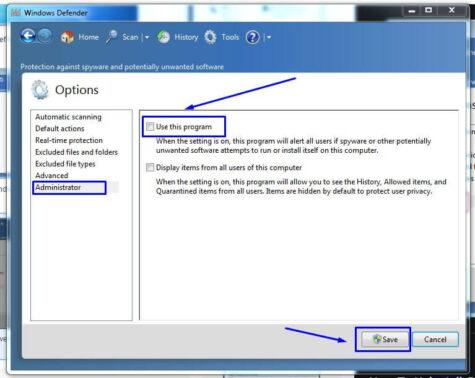 Akan muncul 2 pilihan, Use this program dan Display item