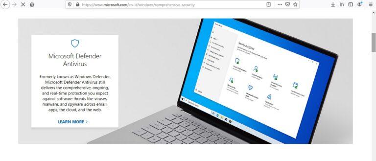 Lewat Situs Resmi Windows