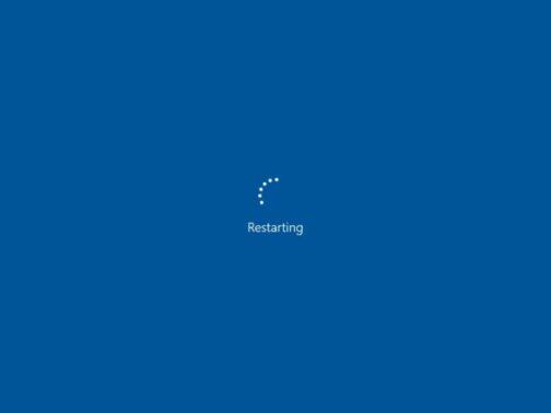 Me-restart PC