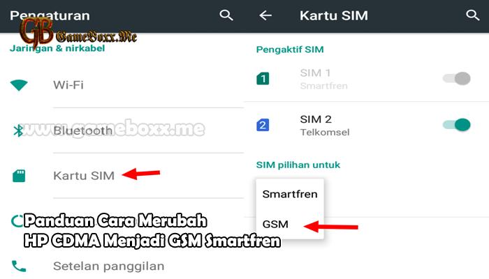 Panduan Cara Merubah HP CDMA menjadi GSM Smartfren