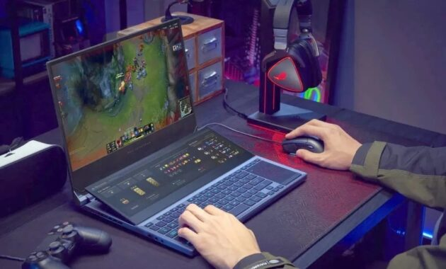 Penggunaan Laptop di Luar Batas