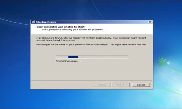 Repair System OS