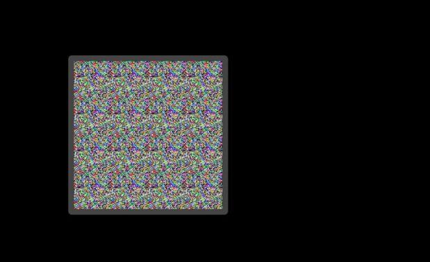 Setelah terbuka segera lakukan perbaikan ke bagian layar yang mengalami stuck pixel. Caranya dengan menggeser kotak berkedip-kedip