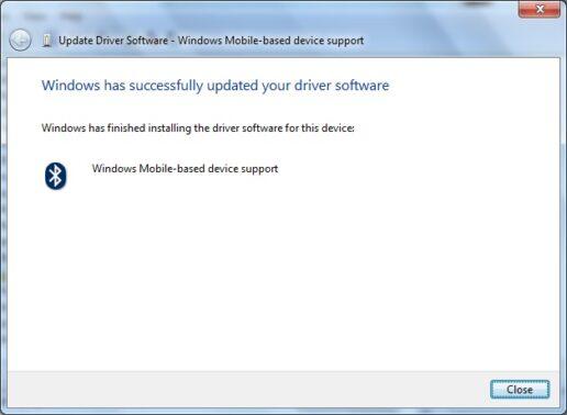 Tunggu proses instalasi berjalan dengan sempurna. Indikator instalasi