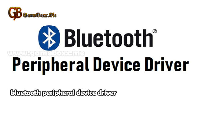 bluetooth peripheral device driver