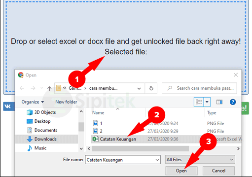 gambar Membuka Password Excel Tanpa Software