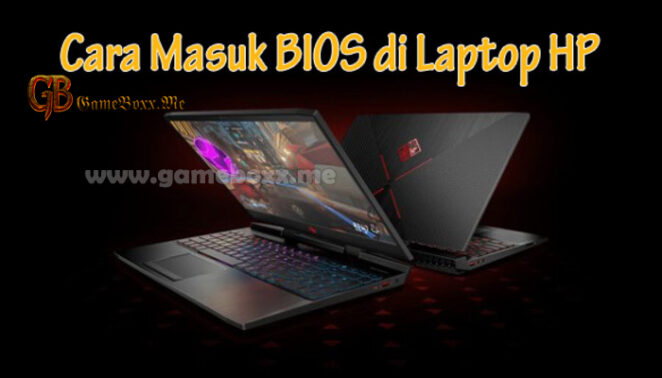 masuk bios laptop hp