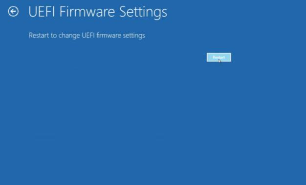 klik Restart untuk mereboot komputer