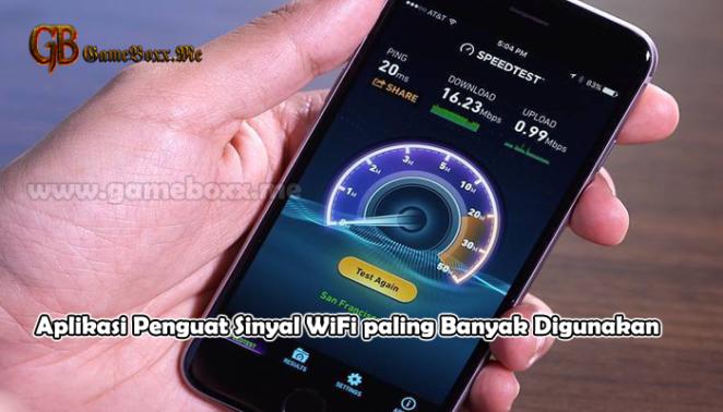 Aplikasi Penguat Sinyal WiFi paling Banyak Digunakan