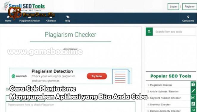 Cara Cek Plagiarisme Menggunakan Aplikasi yang Bisa Anda Coba